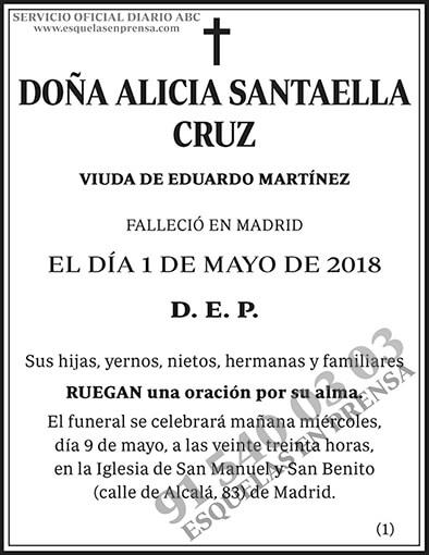 Alicia Santaella Cruz